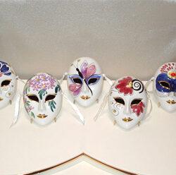 Mini Wall Masks Alana Set of 5