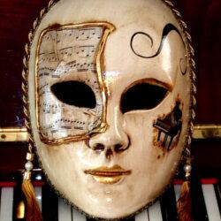 Music Mask Allegro Piano