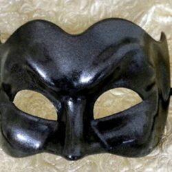 Black Large Masquerade Mask