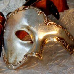 Silver Phantom Mask