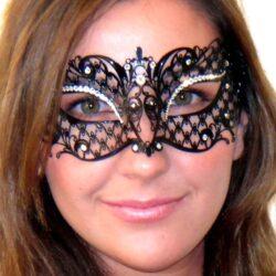 Adelia Mask with Swarovski Crystals