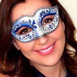 Sapphire Blue Mask