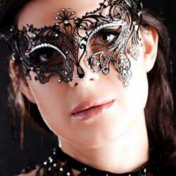 Ladies Filigree Masquerade Mask