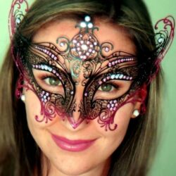 Winged Angel Masquerade Mask