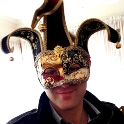 Red Jester Mask