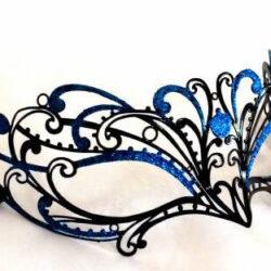 Blue Mask Custom Masquerade Mask