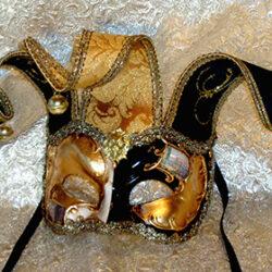 Venetian Zane Joker Mask