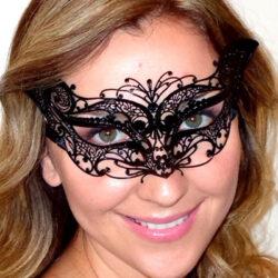 Petite Black Cat Mask