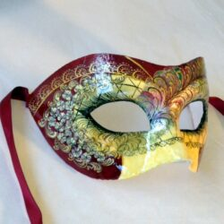 Marielle Exclusive Mask Hand Painted in Venice