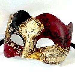 Zane Large Venetian Mask for Men