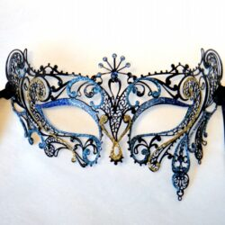 Ladies Blue Mask Sabrina